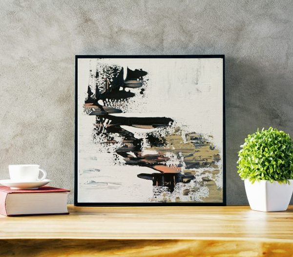 abstract art, square abstract art, modern abstract art
