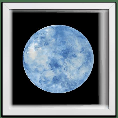 """Blue Moon"" Prints"