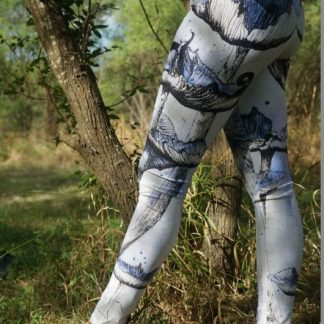 Mushroom Leggings, Art Leggings, Unique Leggings