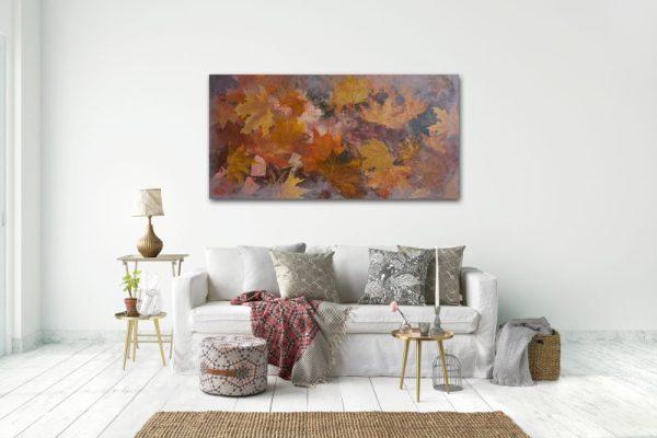 fall leaves, nature art, autumn leaves