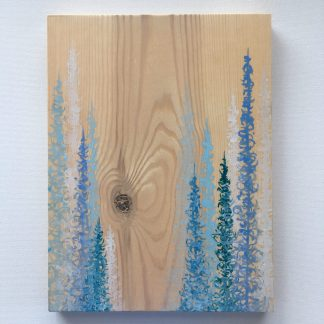 tree art, wood art, nature art, upcycled art, forest art, modern landscape art