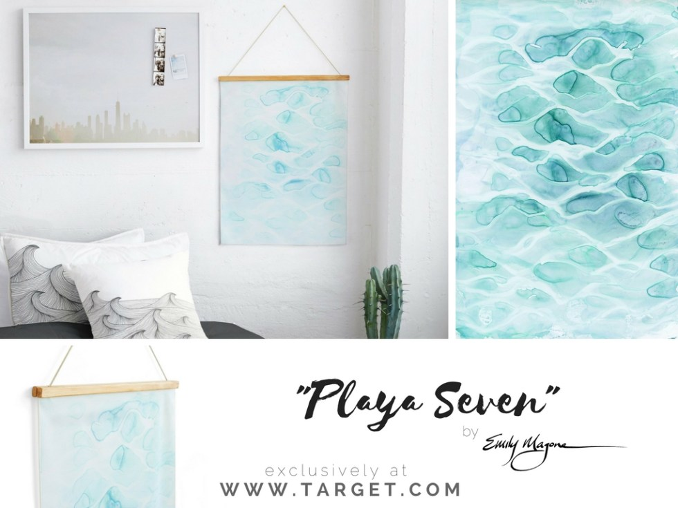 Water tapestry by Emily Magone