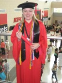 I earned my B.A. in 2011, graduating summa cum laude with honors in Political Science and Philosophy