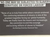This quote is on the wall inside the Slave Lodge in downtown Cape Town