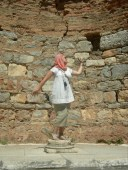 At the great Library of Celsius in Ephesus, Turkey 2011