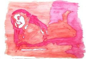 """""""Sweet Kylie"""" Watercolor 2012"""