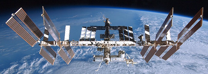 The International Space Station - definitely rocket science.