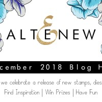 Altenew December 2018 Stamp and Die Release Blog Hop!