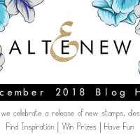 Altenew December 2018 Stamp and Die Release Blog Hop!