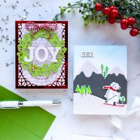Christmas Layers with Pinkfresh Studio!