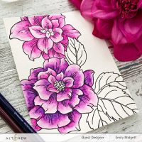 Altenew + The Daily Marker Watercolor Therapy Blog Hop + Giveaway!