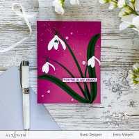 Altenew Craft A Flower: Snow Drop Blog Hop+Giveaway!