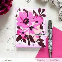 Cistus Layering Die Set & Gradient Cardstock Release Blog Hop + Giveaway