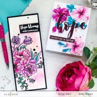 Altenew Exotic Garden Stamps/Dies/Stencils/Embossing Folders Collection Release Blog Hop + Giveaway