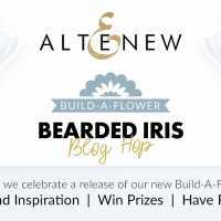 Altenew Build-A-Flower: Bearded Iris Blog Hop + Giveaway!