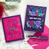 Pinkfresh Studio July 2021 Stamp, Die, Stencil, and Hot Foil Release