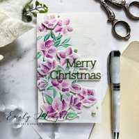 Tonic Studios August Release: Christmas Rose- Blog Hop + Giveaway!