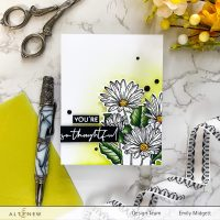 Altenew Paint-A-Flower: African Daisy Outline Stamp Set Release Blog Hop + Giveaway ($200 in Total Prizes)
