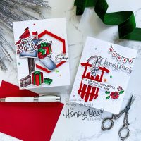Honey Bee Stamps Vintage Holiday Release!
