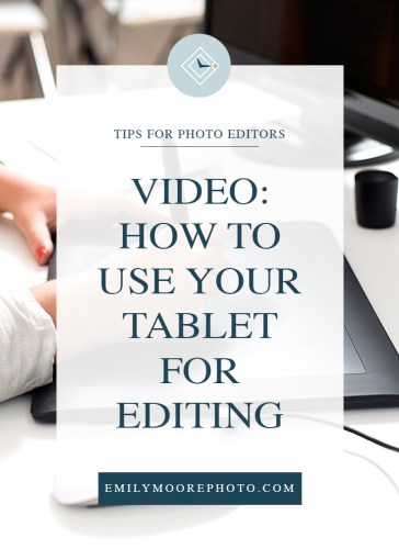Video: How to Use Your Tablet for Editing | Emily Moore