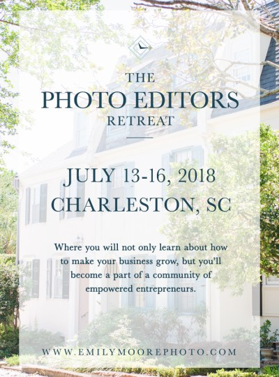 Introducing: The Photo Editors Retreat