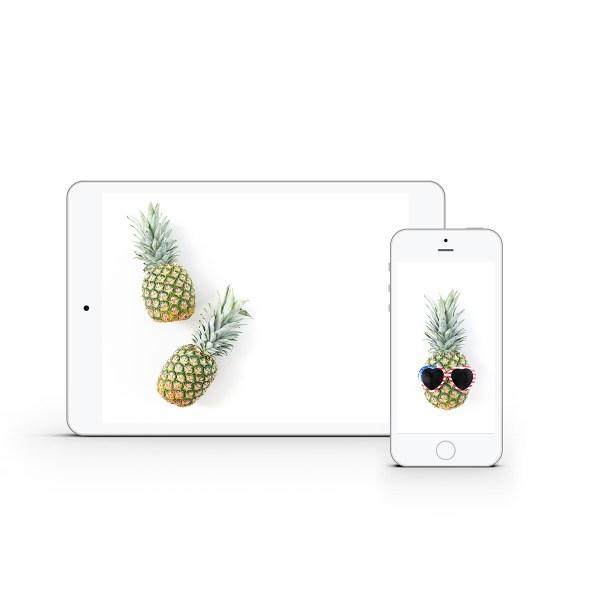 Pineapple Styled Stock Bundle | Emily Moore | www.emilymoorephoto.com
