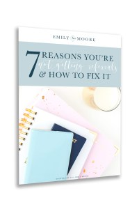 """""""7 Reasons You're Not Getting Referrals (& How to Fix It!)"""" Free E-book 