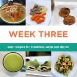 Four-week Paleo meal plan: Week Three