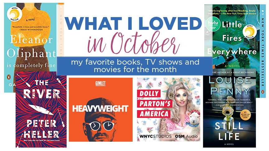 What I loved in October