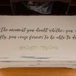 Hidden fairy roll top desk