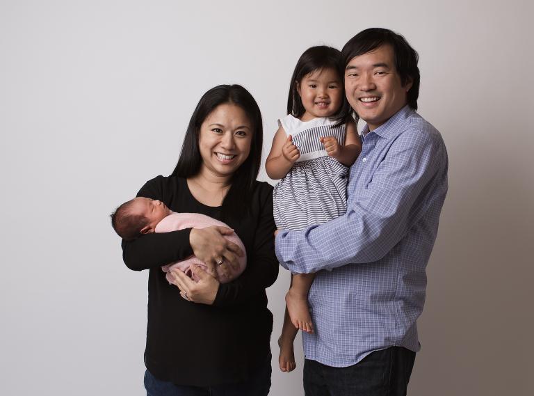 Portrero Hill, San Francisco family portrait