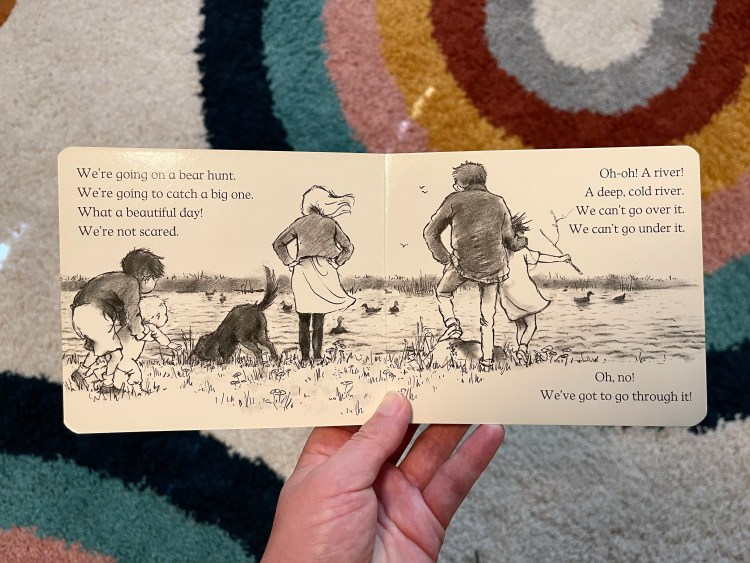 Emily P.G. Erickson's personal essay for PALS A Bear Hunt