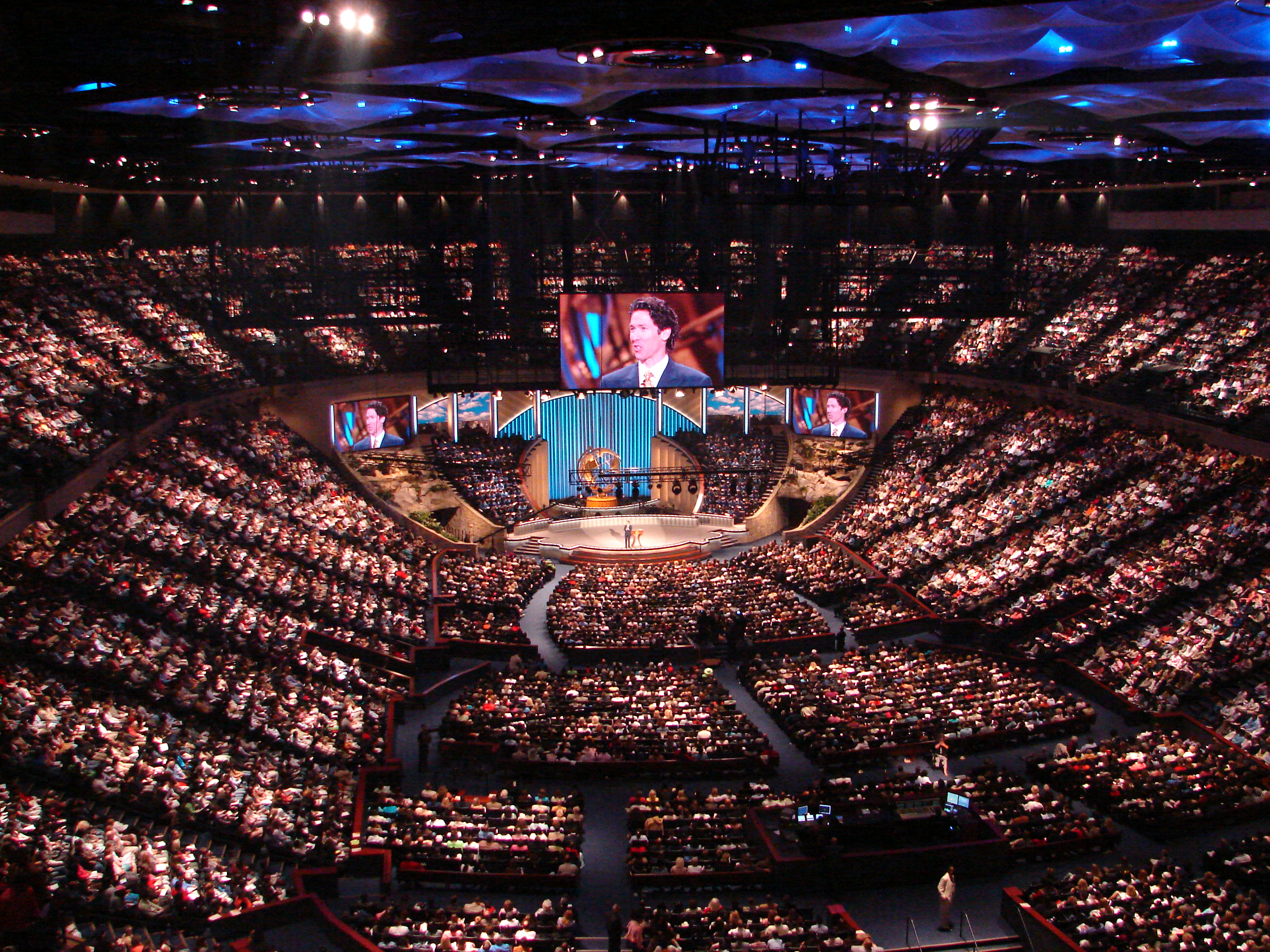 Lakewood Church - megachurch