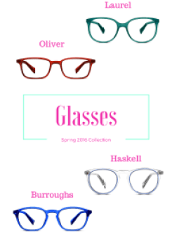 Warby Parker Spring 2016 x Emily Riane