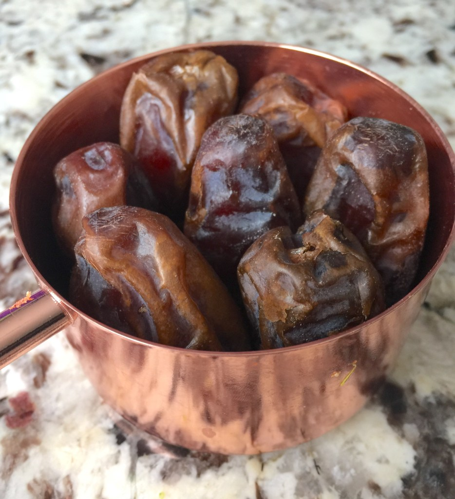 Use medjool dates as a natural sweetener