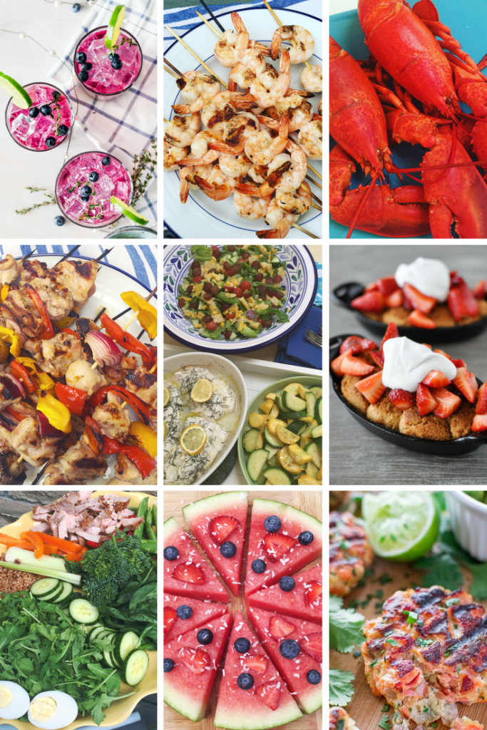 Delicious summer recipe ideas for healthy, seasonal eating. Find paleo, whole30, and gluten-free meals in this recipe round-up.