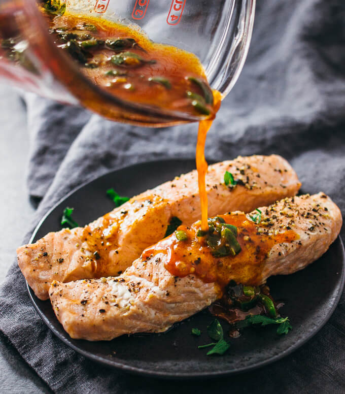Healthy Instant Pot Salmon Chili Lime Recipe