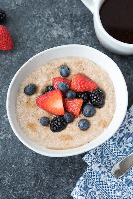 Healthy Instant Pot Grain Free Porridge Breakfast recipe