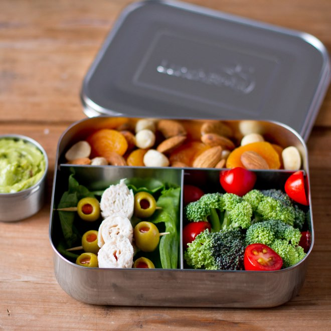 plastic free lunch box lunchbots healthy lunch