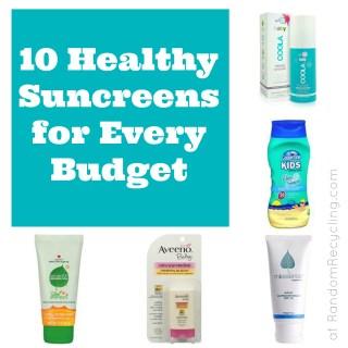 10 Safe Sunscreens for Every Budget