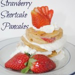 strawberry shortcake pancakes. Yummy!