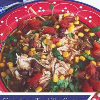 Chicken Tortilla Soup Recipe Favorite