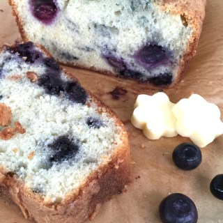 Mother's Day Blueberry Bread. Please pass the butter.