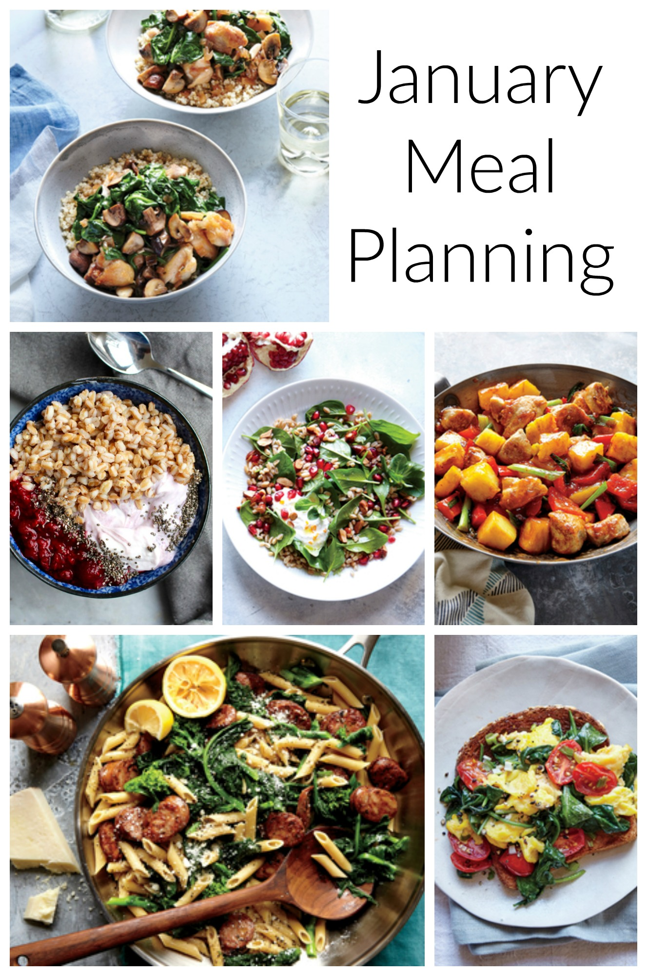 Healthy Eating Meal Planning