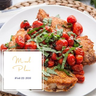 Simple meal plan recipes