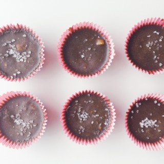 Healthy Homemade Mini Chocolate Treats