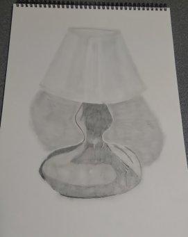 Drawn lamp