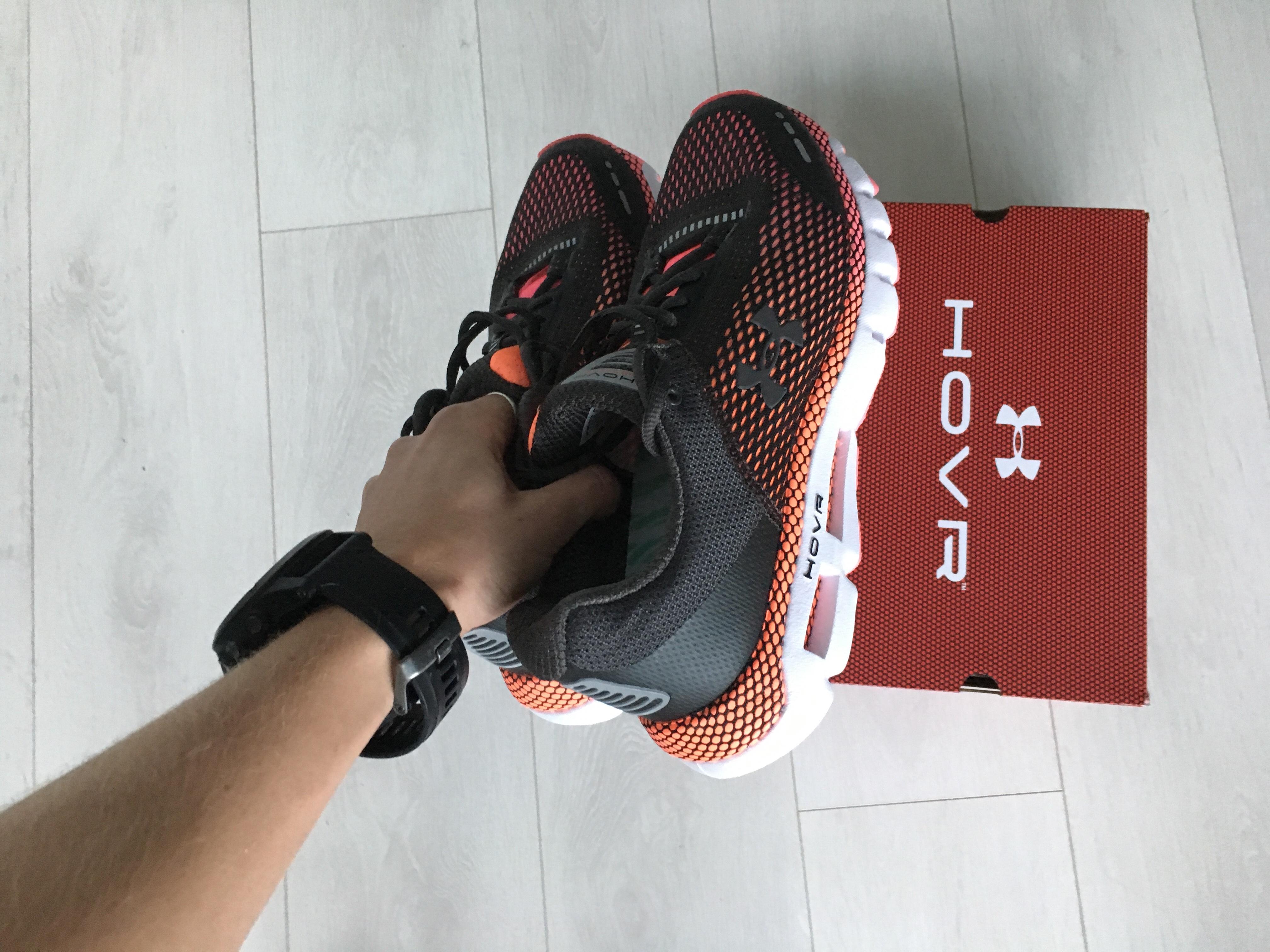 1ebbf2eb107 Running Shoe Review  UA HOVR™ Infinite - Emily Rudow