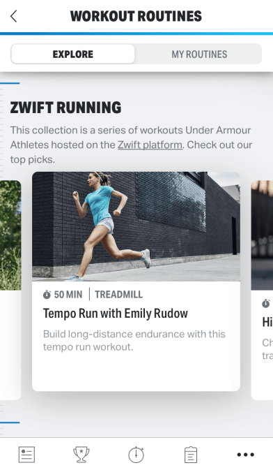 MapMyRun and Zwift
