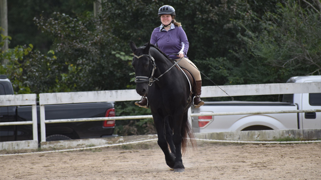 Emily Georgia Special Olympics horse